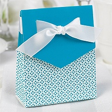 Sweet Ribbon Favor Boxes - Palm