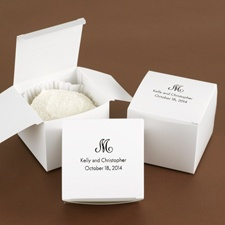 Large White Cake Box