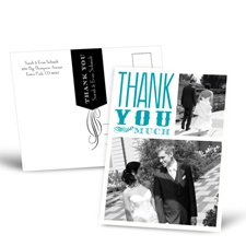 So Grateful - Thank You Postcard