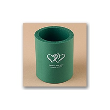 Green Koozies - Personalized