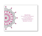Indian Accents - Reception Card