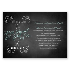 Most Special Day Wedding Invitation