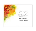 Brilliant Autumn - Reception Card