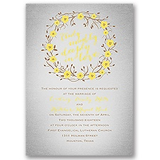 Truly, Madly, Deeply Wedding Invitation