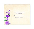 Vintage Vines - Grapevine - Response Card and Envelope