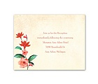 Vintage Vines - Tango - Reception Card