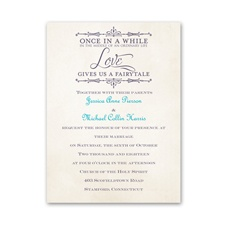 Charmed  Petite Wedding Invitation