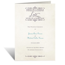Charmed - Wedding Program