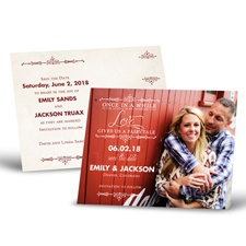 Charmed - Save the Date Postcard