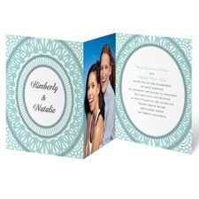 Moroccan Lace - Photo Invitation