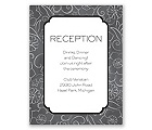 Cute Sketch - Reception Card