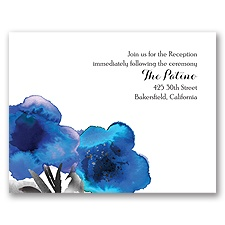 Floral Passion - Malibu - Reception Card