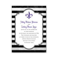 Striped Style - Choose Your Design - Invitation