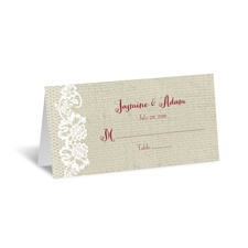 Country Details - Place Card