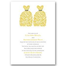 Beautiful Brides Wedding Invitation