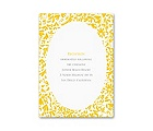 Beautiful Brides - Reception Card
