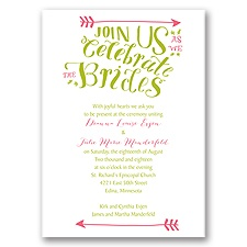 Join Us Wedding Invitation