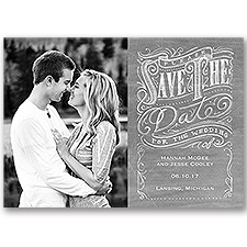Fancy Flourishes Save the Date