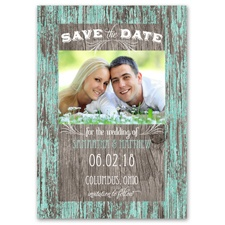 Rustic Charm Save the Date