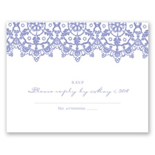 Exotic Lace - Response Card