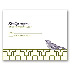 Feathered Friend - Response Card