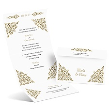Quaint Corners Seal and Send Wedding Invitation