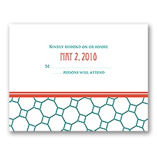 Chic Patterns - Response Card