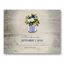 Pretty Pansies - Response Card
