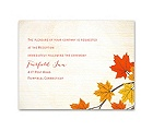 Maple Treasures - Reception Card