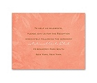 Faded Foliage - Reception Card