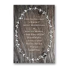 Tied in Knots Wedding Invitation