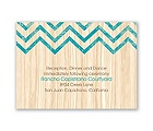 Rustic Appeal - Reception Card
