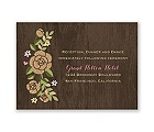 Rustic Whimsy - Reception Card