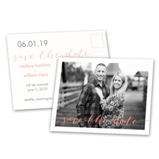 Photo Feature Save the Date