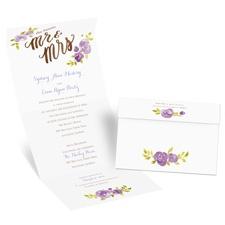 Future Mr. & Mrs. Seal and Send Wedding Invitation