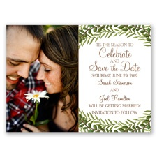'Tis the Season Holiday Card Save the Date
