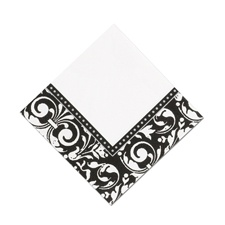 Damask Frame - Cocktail Napkin