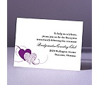 Close at Heart - Grapevine - Reception Card