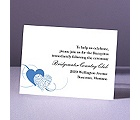 Close at Heart - Ocean - Reception Card