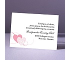 Close at Heart - Salmon - Reception Card