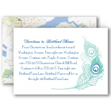 Feather Fancy - Map Card