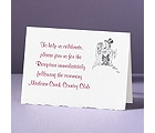 Days of Innocence - Reception Card