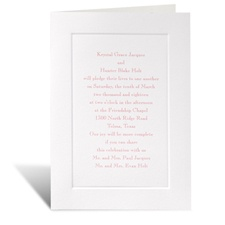 Taste of Tradition Wedding Invitation