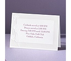 Satin Calla Lilies - Reception Card
