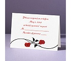 Red Roses - Response Card and Envelope