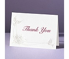 Shimmering Doves - Thank You Card and Envelope