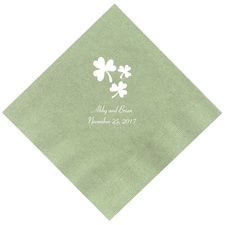 Dark Sage Dinner Napkins
