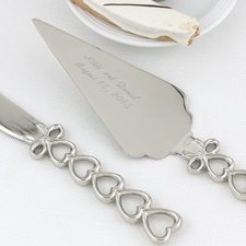 Stacked Hearts Serving Set