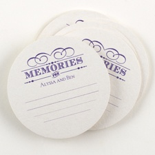 Memories Advice Coaster