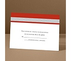 Band of Silver - Scarlet - Response Card and Envelope